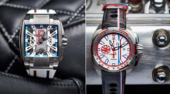 Two watches for the Tour Auto Sport