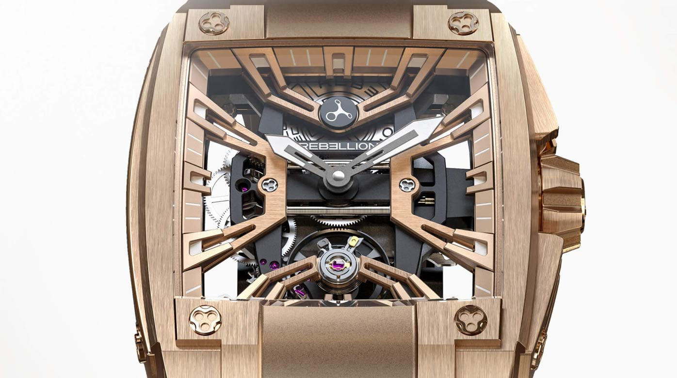Rebellion Timepieces - Fondation de la Haute Horlogerie