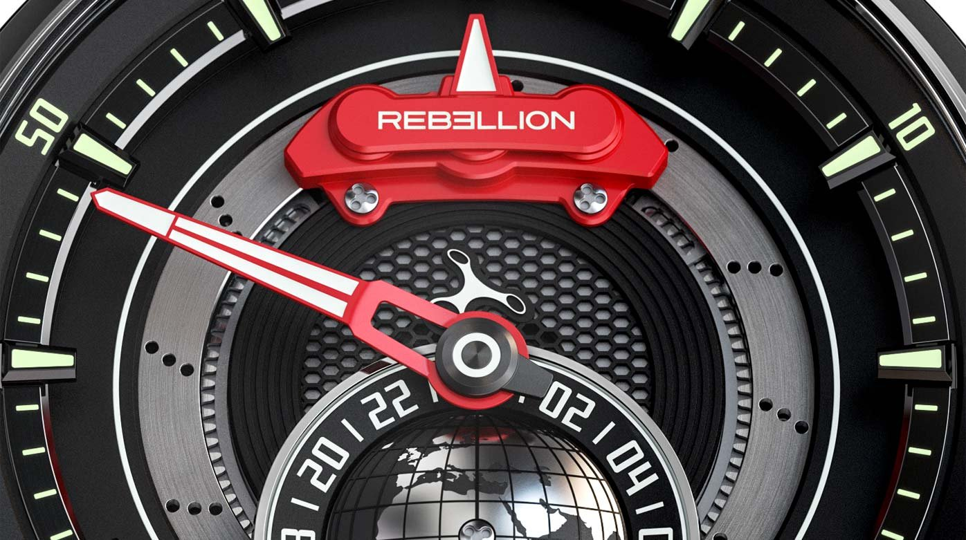Rebellion Timepieces - New partner