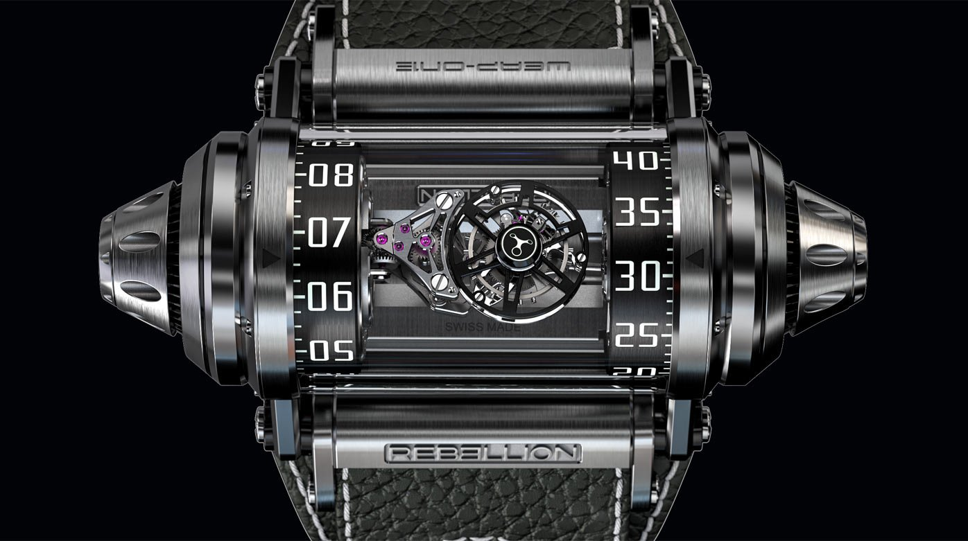 Rebellion - Weap-One Asymmetrical Flying Tourbillon