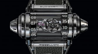 Weap-One Asymmetrical Flying Tourbillon Innovation and technology