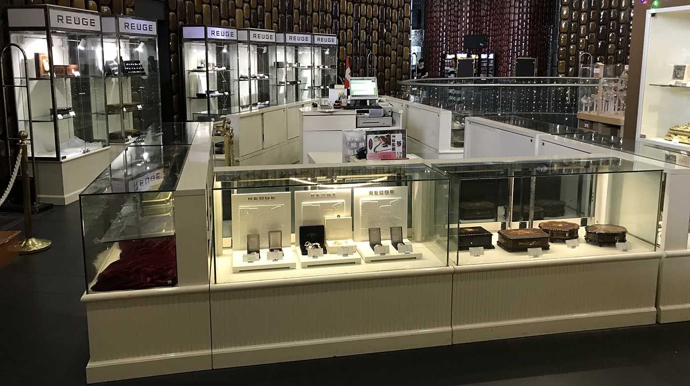 Reuge - A Reuge flagship store opens in China