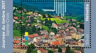 Swiss postal stamps Arts and culture