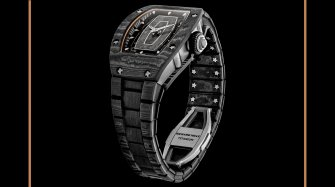 New bracelet in carbon TPT® Innovation and technology