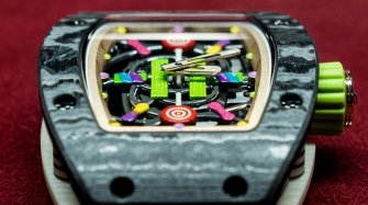 A look inside Richard Mille's sweet shop Innovation and technology