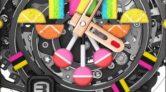 Richard Mille's sweet tooth