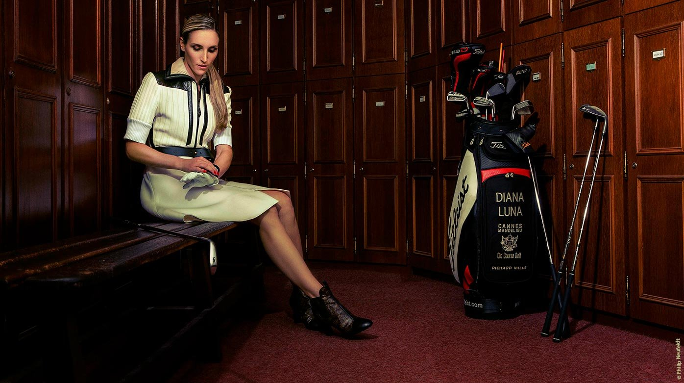 Richard Mille - Diana Luna, l'atout golf de Richard Mille