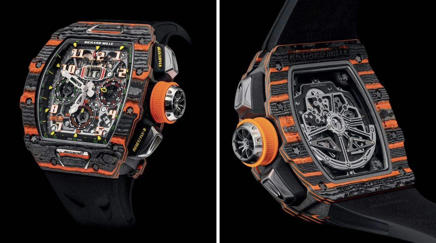 Richard Mille - Un prototype de la RM 11-03 McLaren pour Only Watch