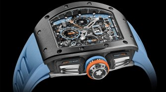 RM 11-05 Automatic Flyback Chronograph GMT  Trends and style