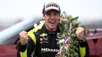 Simon Pagenaud, patron of the Indianapolis 500 Miles Events