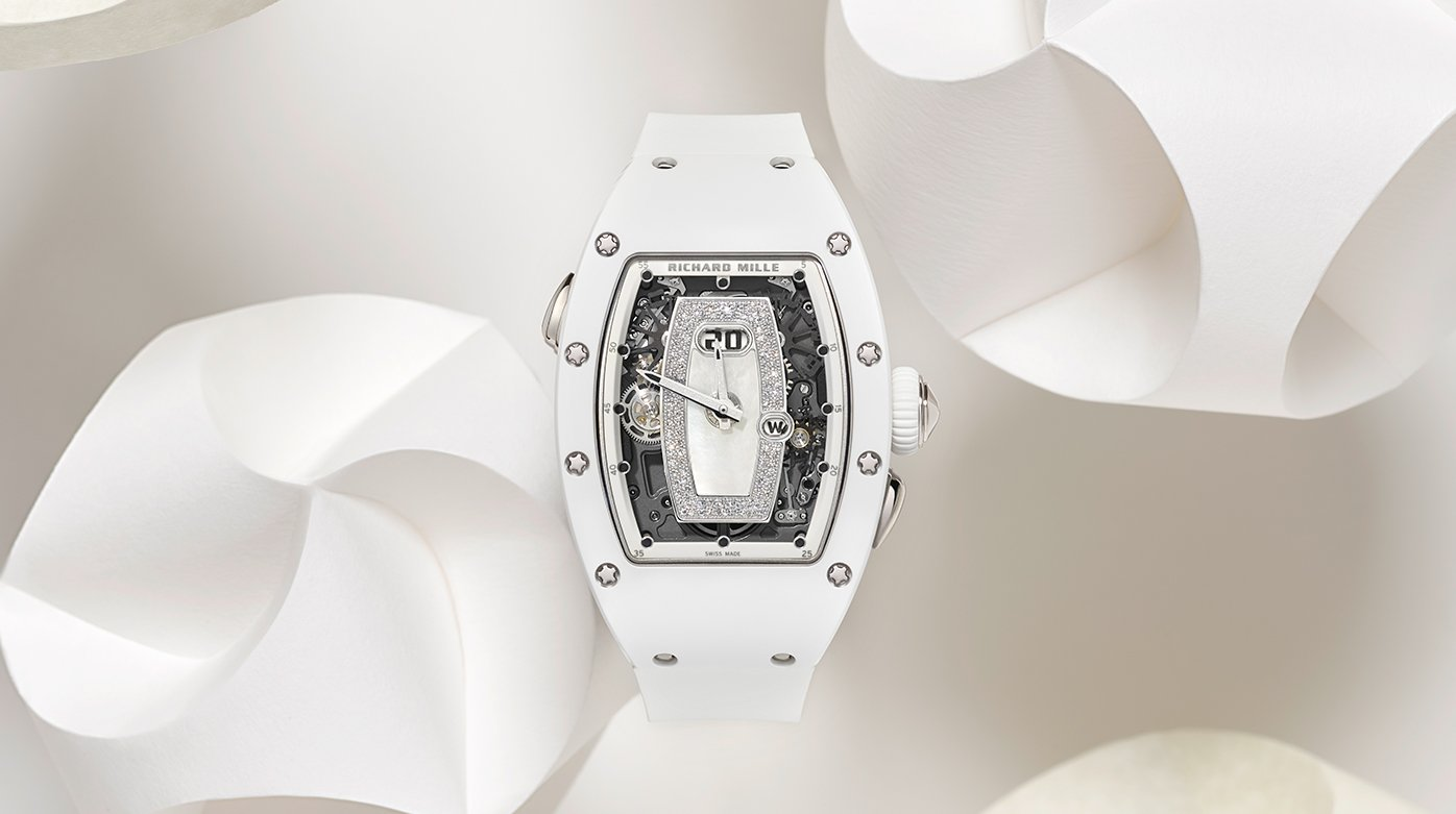 Richard Mille - RM 037 White Ceramic Automatic