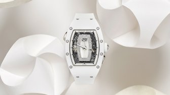RM 037 White Ceramic Automatic Trends and style