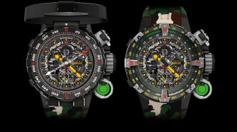 Superheroes and the Richard Mille RM 25-01
