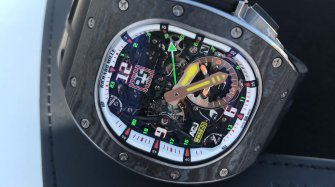 Richard Mille repart en vol « vibrant » ! Innovation et technique