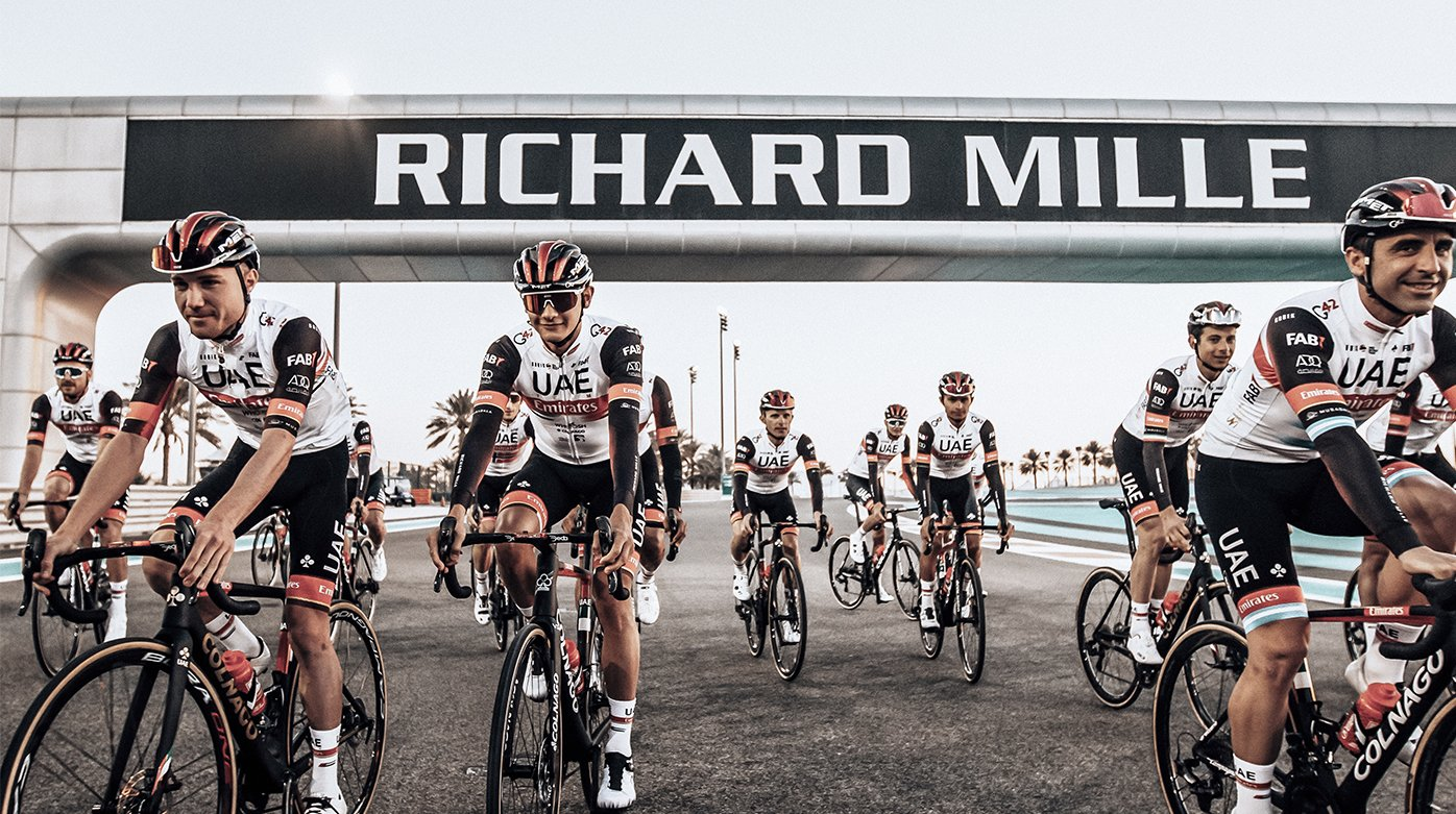 Richard Mille - Partenaire horloger officiel de L'UAE Team Emirates