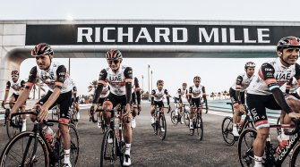 Partenaire horloger officiel de L'UAE Team Emirates