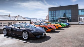 Taking a McLaren for a spin to Les Breuleux Sport