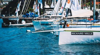 On board for the 8th edition of Les Voiles de St Barth Sport