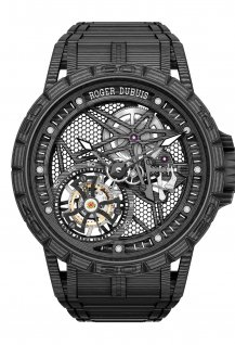 Excalibur Spider – Carbon flying tourbillon