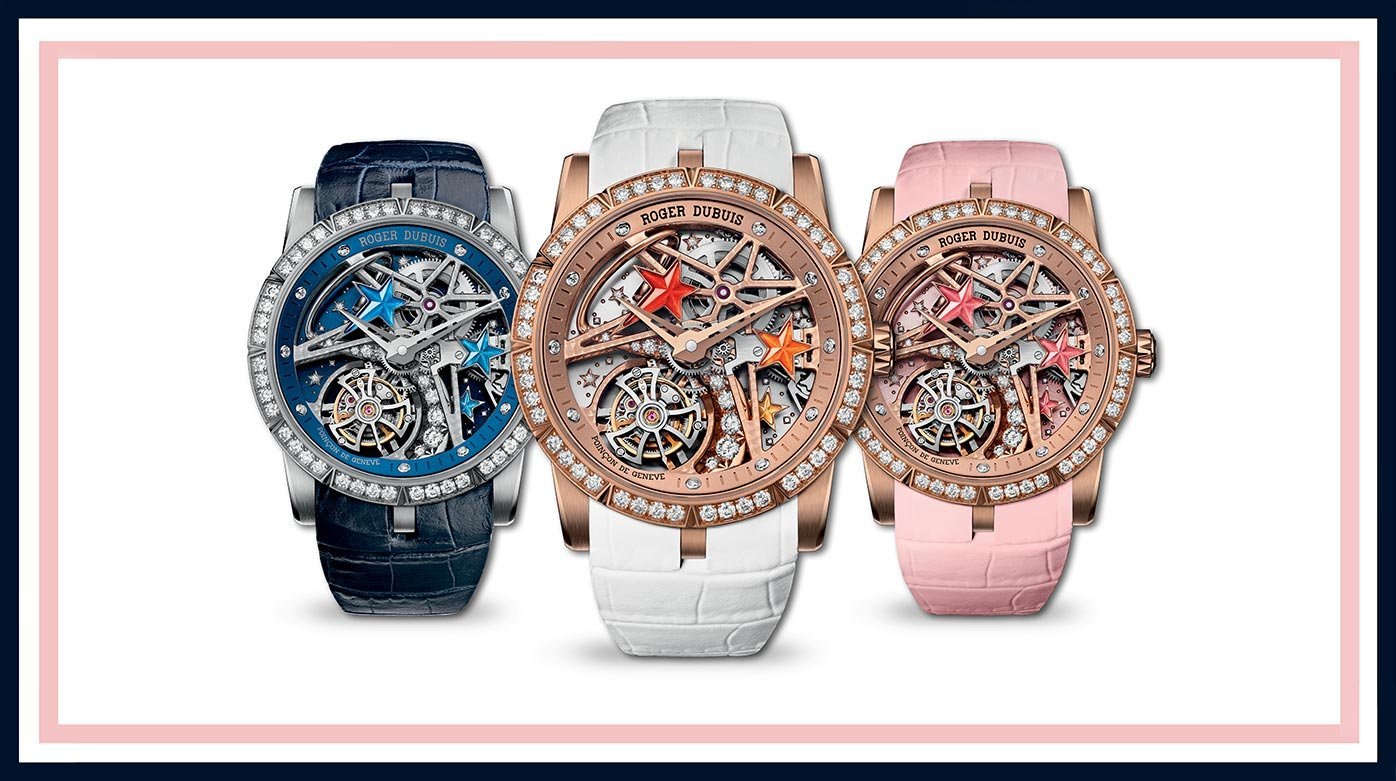 Roger Dubuis - Colourful whirlwind of shooting stars