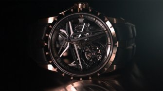 Excalibur Single Flying Tourbillon