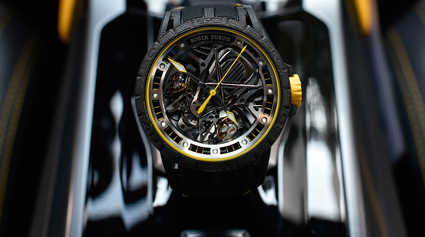 Roger Dubuis - A watch inspired by the Lamborghini Aventador