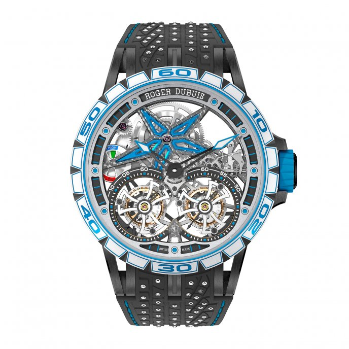 Excalibur Spider Pirelli Sottozero - Double Flying Tourbillon