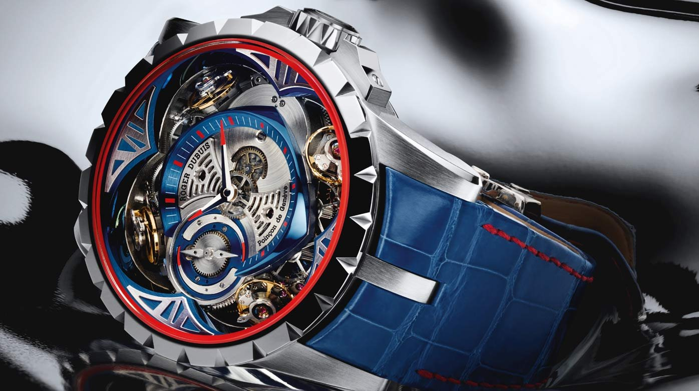 "Roger Dubuis - Excalibur ""Cobalt Chrome"" on the grid in Japan"