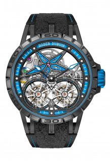 Excalibur Spider Pirelli - Double Tourbillon Volant