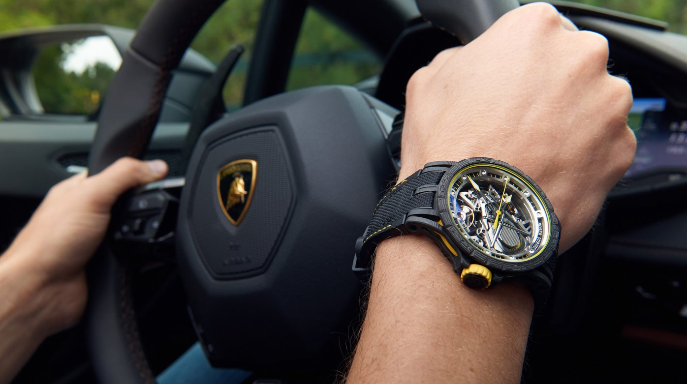 Roger Dubuis -  Roger Dubuis and Lamborghini – a partnership forged in carbon
