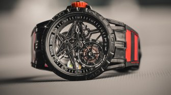 Excalibur Spider Pirelli Simple Tourbillon Volant