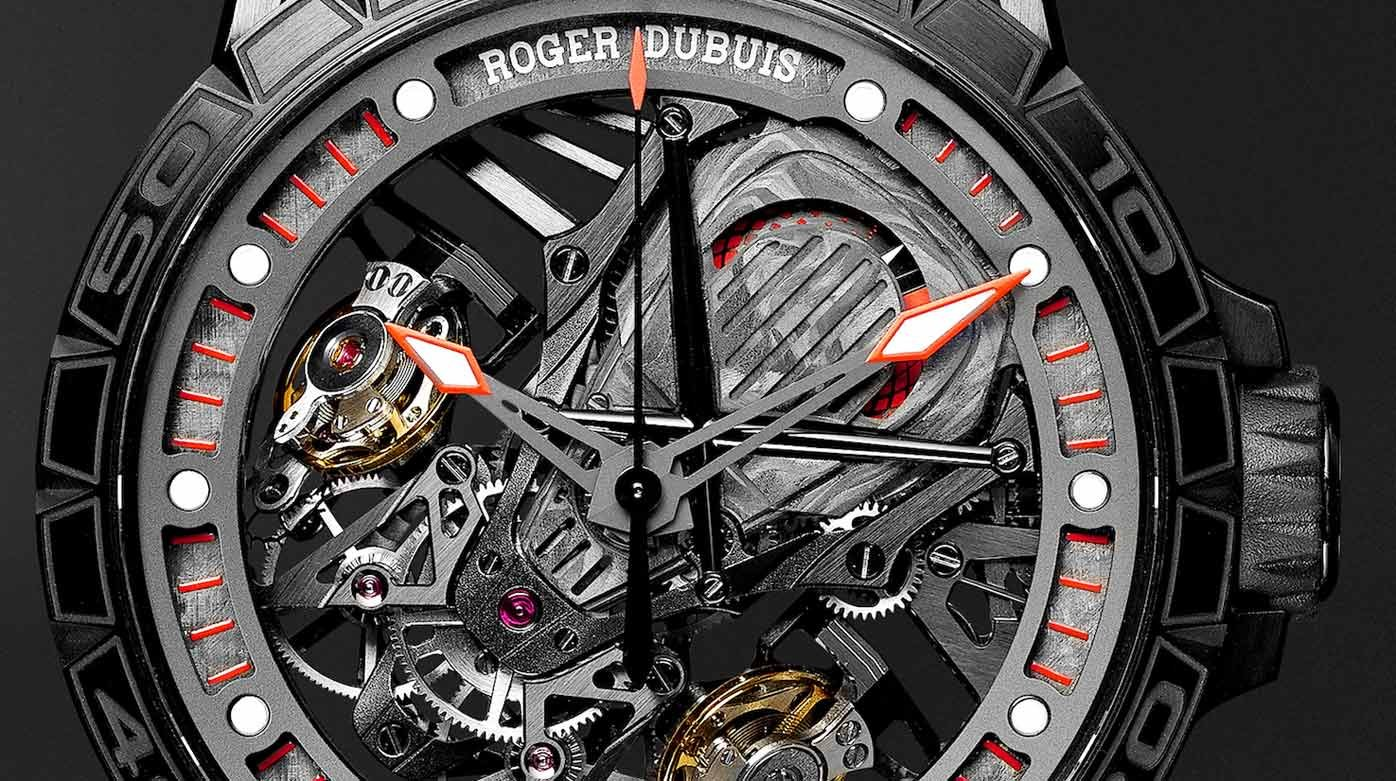 Roger Dubuis - A unique Excalibur for Mr Porter