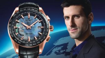 Astron GPS Solar World-Time Novak Djokovic Limited Edition