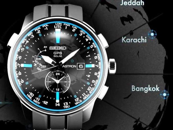 Seiko - Video. Astron GPS Solar, new design