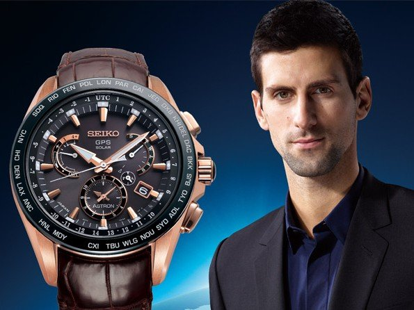 Seiko - Astron GPS Solar Dual-Time Novak Djokovic Limited Edition