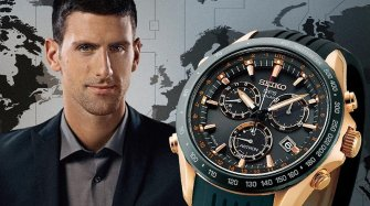 Limited Novak Djokovic Astron GPS Solar Chronograph edition