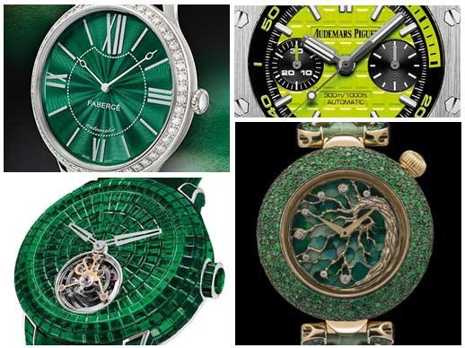 Watches for St. Patrick's Day - Green with envy