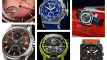 6 colourful men's watches for the summer