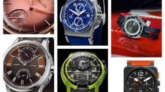6 colourful men's watches for the summer Trends and style