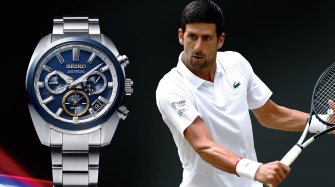 Astron GPS Solar Novak Djokovic 2020 Trends and style