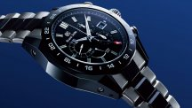 Spring Drive Chronograph GMT Black Ceramic