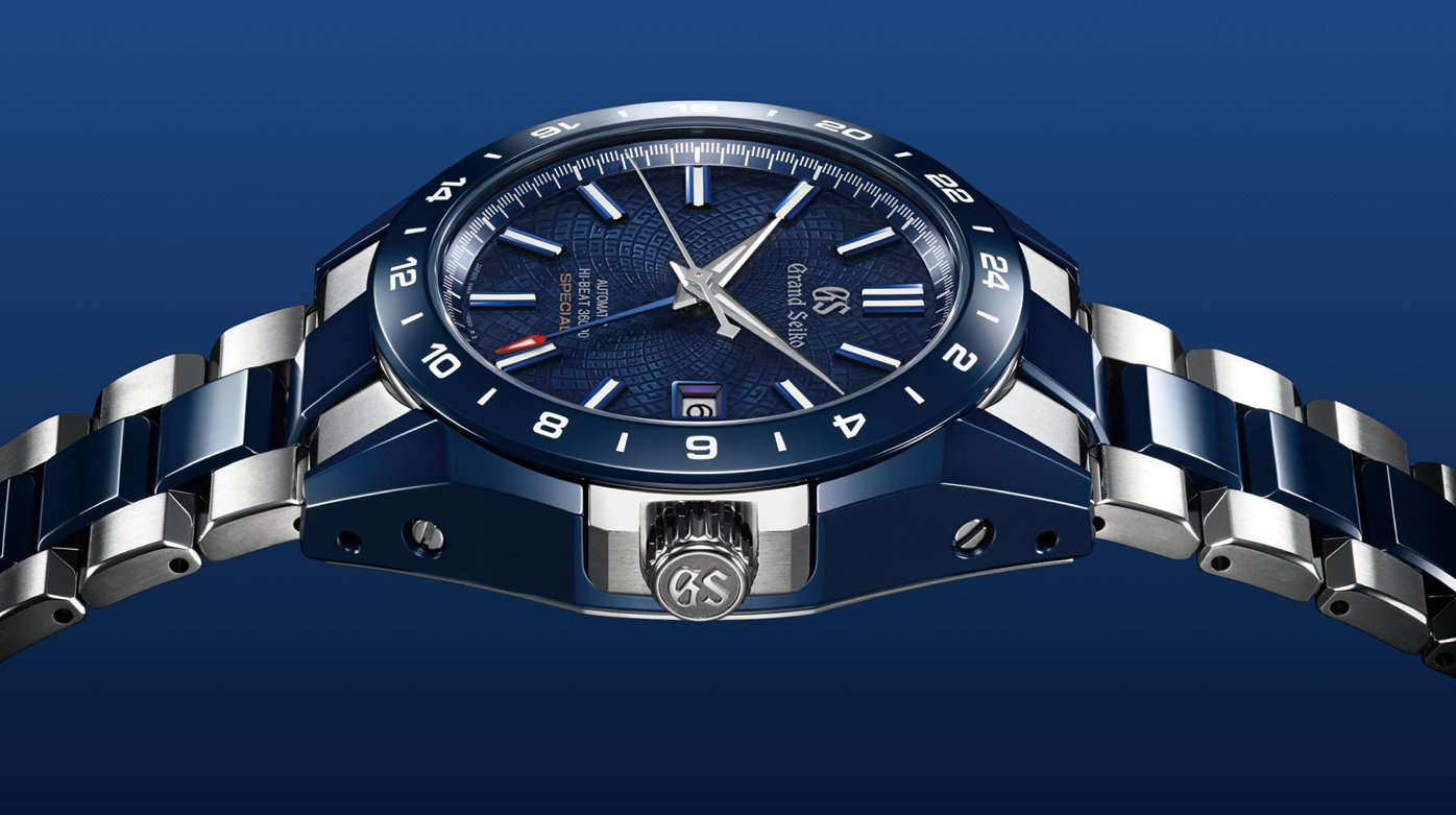 "Seiko - The Grand Seiko Blue Ceramic Hi-beat GMT ""Special"""