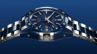 "The Grand Seiko Blue Ceramic Hi-beat GMT ""Special""  Trends and style"