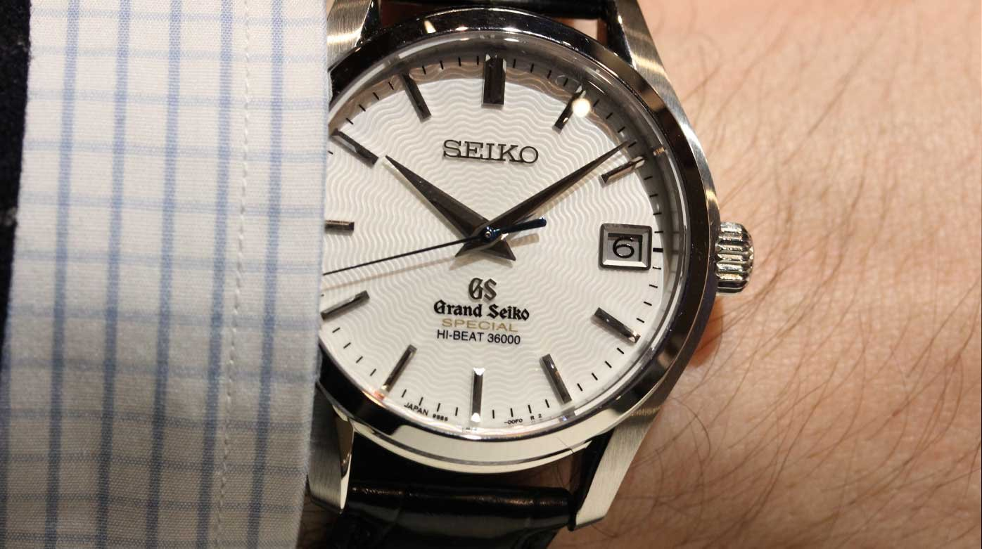 Seiko - Grand Seiko flies the nest