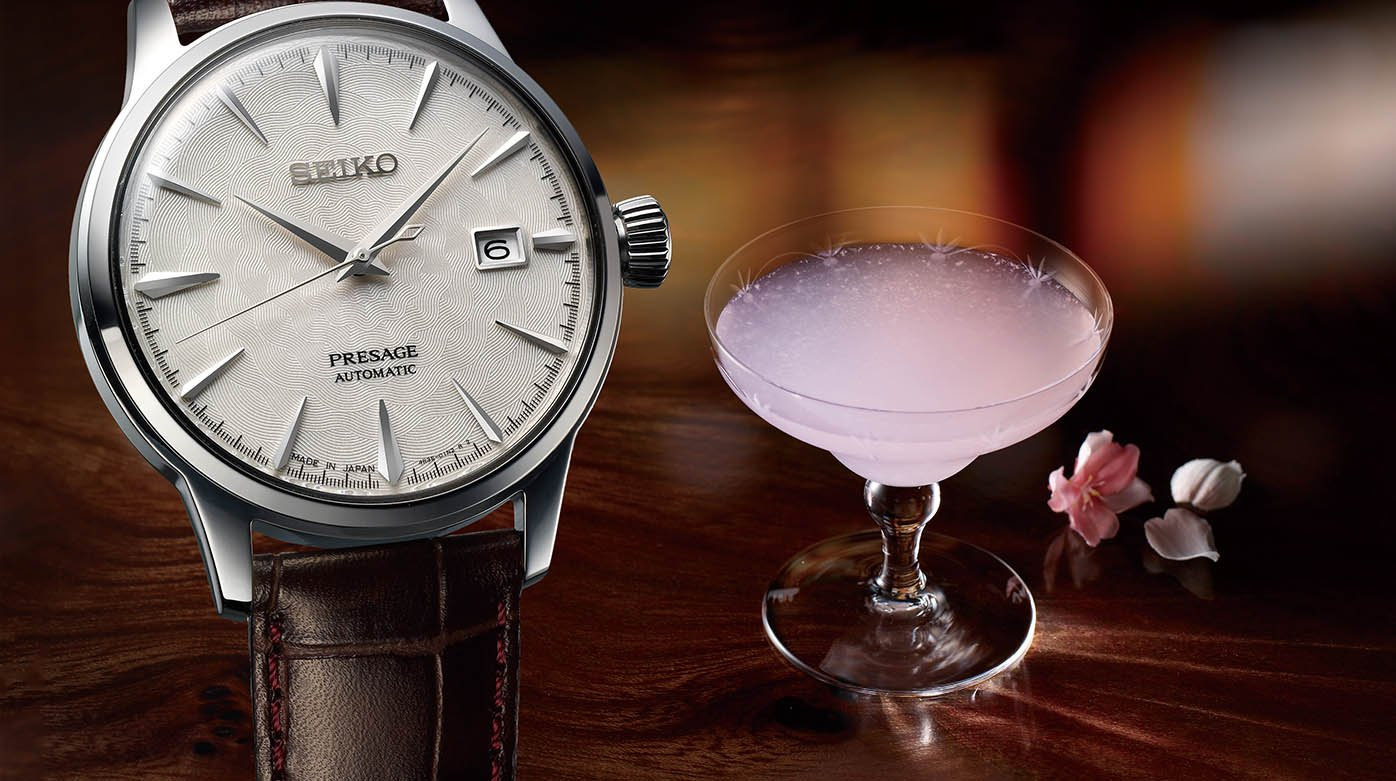 Seiko - Presage Cocktail Starlight and Sakura Hubuki