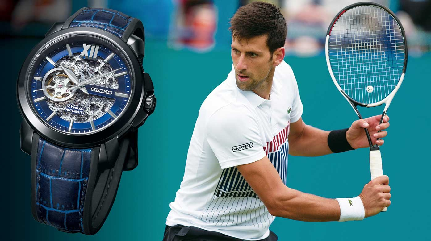 Seiko - A Premier Automatic Skeleton for Novak Djokovic