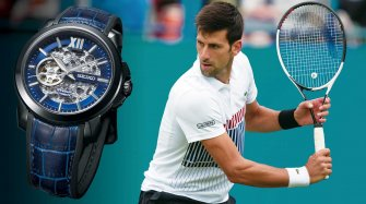 A Premier Automatic Skeleton for Novak Djokovic Trends and style