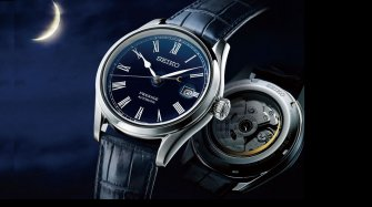 Presage Blue Enamel Limited Edition