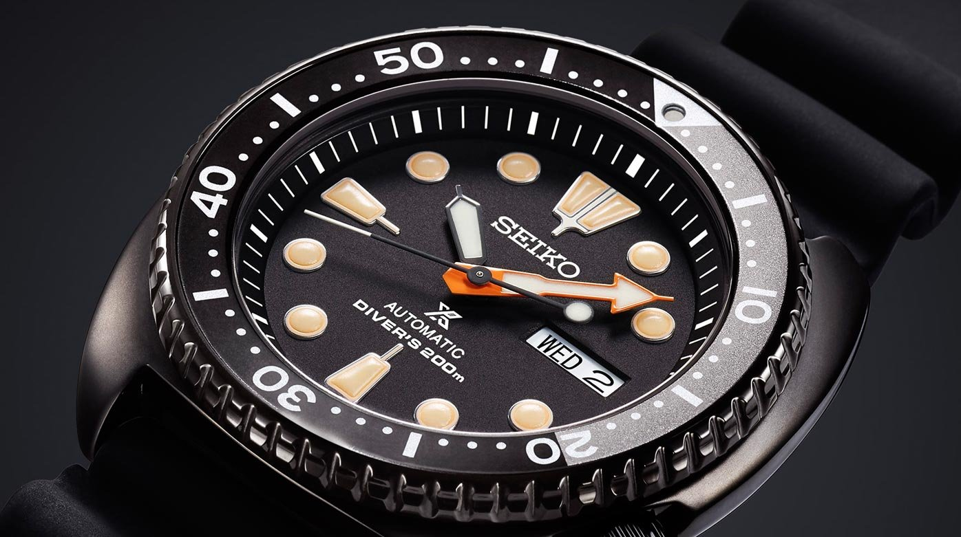"Seiko - Limited Edition Prospex ""Black Series"""