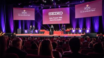 Seiko Prospex wins the Sports watch prize  Arts and culture